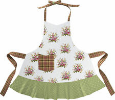 Katie Alice, Highland Fling, Floral Frilly Apron, RRP £20, BNWT