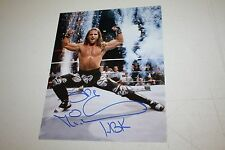 WWE WWF SHAWN MICHAELS HBK SIGNED AUTOGRAPHED 8X10 PHOTO DX FIREWORKS