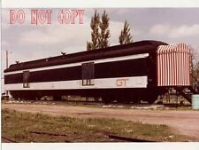 6DD959 RP 1979 GRAND TRUNK RAILROAD CAR #8812 WHAT USE  DISPLAY ? OFFICES ?