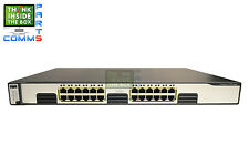 CISCO CATALYST WS-C3750G-24T-S 3750 24 SWITCH *12 MONTH WARRANTY*