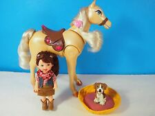 Kelly Doll in Cowgirl Outfit with Pony, Puppy