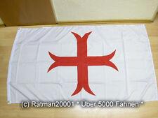 Fahnen Flagge Kreuzritter Nr.4 - 90 x 150 cm