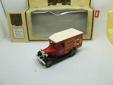 DAYS GONE 13055 1934 MODEL A FORD VAN GOLDEN SHRED MARMALADE MINT IN BOX