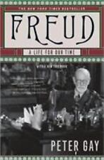 Freud: A Life for Our Time Gay, Peter Books-Good Condition