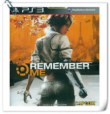 PS3 Remember Me SONY PlayStation Action Adventure Capcom