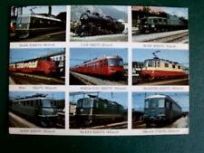 Cartolina Postcard SBB Locomotive Svizzere Schweizer Lokomotiven 1970 [TR8-89 ]