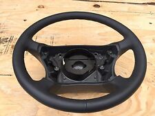 07 MERCEDES W221 S550 W216 CL550 LEATHER STEERING WHEEL ASSEMBLY NICE OEM