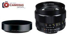 New VOIGTLANDER NOKTON 58mm SLII N Lens & LH-58N Hood Set -58mm f1.4 SL II N AIS