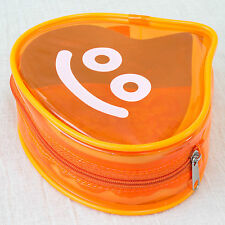 Dragon Quest Slime Clear Color Orange Mini Pouch Bag JAPAN GAME WARRIOR
