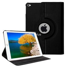Black 360 Degree Rotating PU Leather Smart Cover Case  for Apple iPad Pro