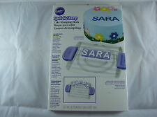 Wilton Cake Spell-N-Stamp Cake Stamping Block - Cake Decorating