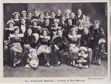 1931  --  LES KOROLLERIEN BREIZ IZEL  DANSEURS DE BASSE BRETAGNE   3H017