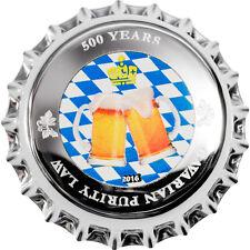 1 $ 2016 Palau - 500 Jahre Bayerische Reinheitsgebot / Purity Law