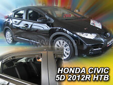 Honda Civic 2012 Hatchback 5 Doors Wind Deflectors 4.pcs. HEKO (17163)