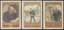 Russia 1957 Lenin/Politics/Military/Army/Navy/People/Soldier 3v set (n33104)