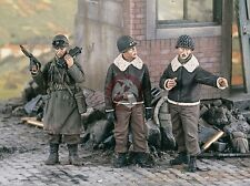 Verlinden 1/35 General George S. Patton and Staff WWII (3 Figures) [Resin] 1848