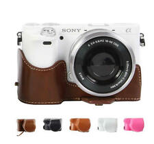Leather Hard case bag cover protector for Sony NEX6 NEX 6 NEX-6 NEX7 A6000