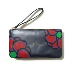 Auth Marc Jacobs GWP LOLA Wristlet /Cosmetic Pouch/Case Organizer