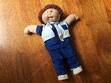 Cabbage Patch Doll BOY - Curly brown red hair - Brown eyes -BLACK 1983 / 1984