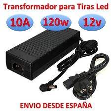 Transformateur 12v DC 10A 120w Bande de Led Chargeur Source d' Alimentation 220v