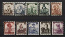 Deutsches Reich 588-597 postfrisch  (B03761)
