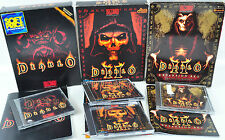 Diablo + II + Expansion Set  Big Box KULT RETRO GAME Spiel OVP 10-E-FC