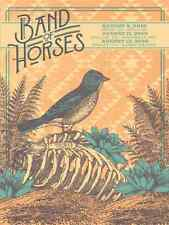 Band of Horses Concert Poster - Status Serigraph - AP - Limited Edition of 60