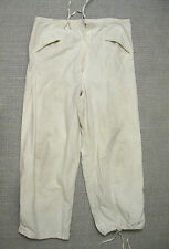 GERMAN ARMY WW2 SNOW CAMO OVERWHITE TROUSER PANTS 1941