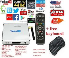 YOKA KB2 PRO TV Box Amlogic S912 Android OctaCore 4K 2x WIFI Set Top Box 2G/32G