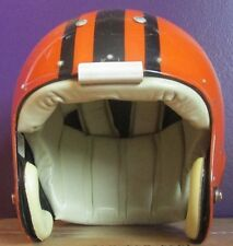 MACGREGOR 100MH CLEAR SHELL SUSPENSION FOOTBALL HELMET GAME WORN WARSAW INDIANA
