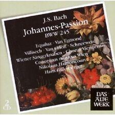 HARNONCOURT/ WIEN.SÄNGERKNABEN/GILLESBERGER - JOHANNES-PASSION BWV245 2 CD NEU