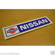 Classic Nissan Logo Sticker Decal Graphic - SINGLE