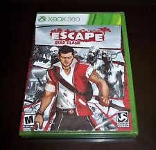 ESCAPE DEAD ISLAND XBOX 360 ZOMBIES VIDEO GAME WALMART RECOND.SEALED. FREE SHIP