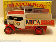Matchbox Yesteryear Y27 Foden,MICA 13th UK Convention.