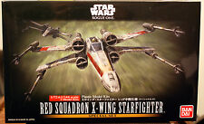 Star Wars X - Wing Fighter Red Sq. 2 kits, 1:72 + 1:144, Bandai 10522 neu 2017