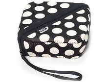 Built NY Bento Sandwich Box and Black White Dot Neoprene Cover