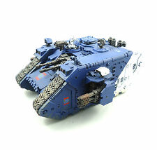 WARHAMMER 40K ARMY PRE HERESY WORLD EATERS LAND RAIDER   PAINTED