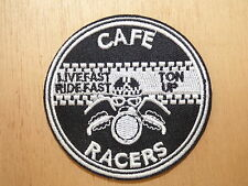 ECUSSON PATCH THERMOCOLLANT CAFE RACER custom biker moto rock rockabilly métal