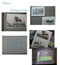 Very interesting and old 2 italian photos albums horse jumps photo horses Italy