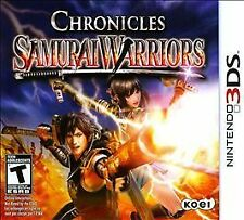 Samurai Warriors: Chronicles (Nintendo 3DS, 2011)