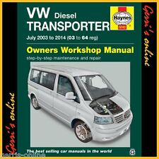 5743 Haynes VW T5 Transporter Diesel (2003 - 2010) Service Manual