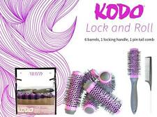 KODO - Lock and Roll Set - Purple 6 X 45mm Barrels/Heads, Handle and Comb