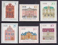 Germany DDR 1071-76 MNH OG 1969 Various Building Complete Set of 6 Very Fine