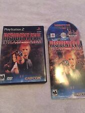 RESIDENT EVIL DEAD AIM-SONY PLAYSTATION 2-PS2-COMPLETE-GAME,CASE,MANUAL