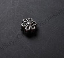 20pcs Tibetan Silver Flower Interval Beads 7MM CA392