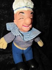 VINTAGE PLASTIC RUBBER FACE 14 IN MR MAGOO SAILOR DOLL BEAR OLD RUSHTON GUND LOT