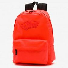 Vans Realm Backpack Rucksack School Bag Orange Travel Sports Leisure Shoulder