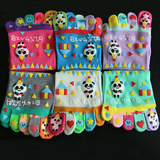 6Pair  Women Winter New Cotton socks toe socks Lady Girl Cartoon Hosiery YK0012