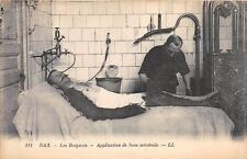 CPA 40 DAX LES BAIGNOTS APPLICATION DE BOUE MINERALE