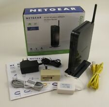 NETGEAR N150 MODEM ROUTER WIRELESS ADSL 2+ COME NUOVO CON SCATOLA E ACCESSORI